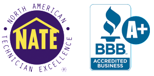 D&H AC in tucson BBB accredited with NATE Certified Techs