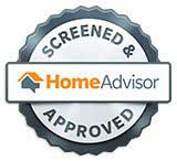 Air conditioning repair service, approved by Home Advisor