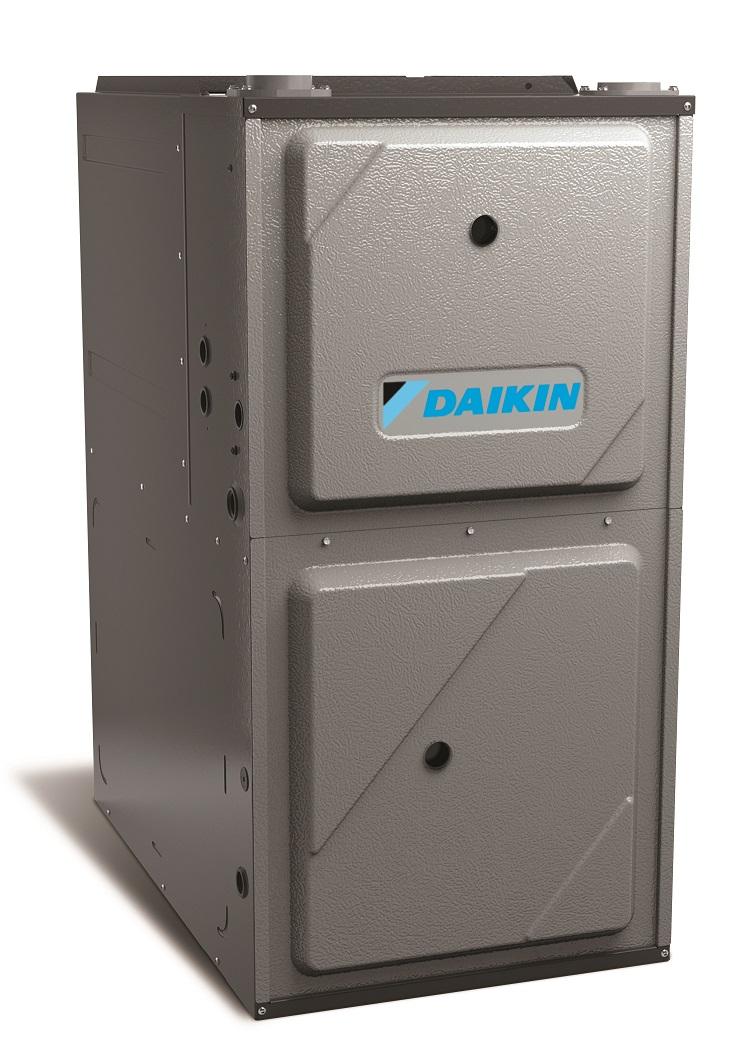 Daikin A/C Upflow Left Quarter