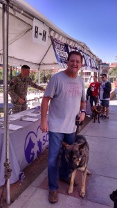 Brett Wright at the Humane Society SWEAT FOR PETS WALK