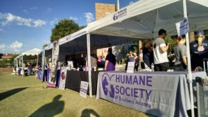D&H AC at the humane society event2