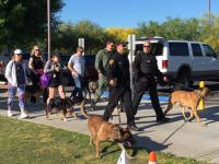 Tucson police K9 walk 2016 thumbnail