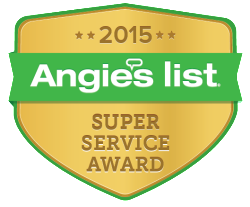D&H Air Conditioning Earned the Angie's List Super Service Award 2015