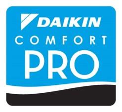 D&H AC's daikin-comfort-pro badge