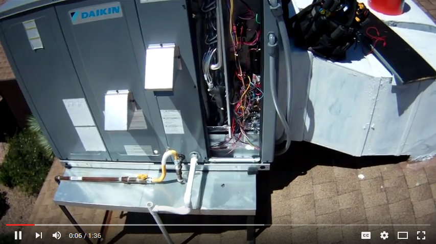 Daikin AC unit repair - Check-up of repairs and improvements