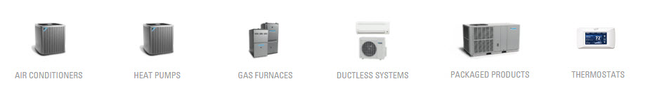 daikin-AC unit models