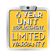 Daikin 6 year replacement limited warranty - D&H air conditioning repair service