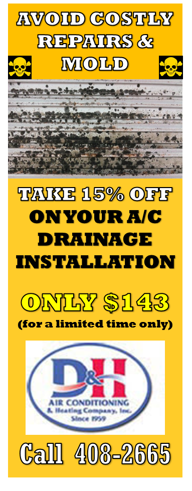 D&H AC Discount coupon for EZ Trap installation