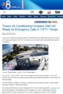 D&H AC in the news on CBS 8