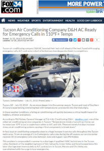 Fox34 features D&H AC in the news