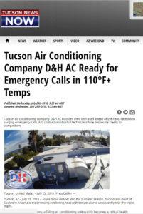 Tucson News Now features D&H AC