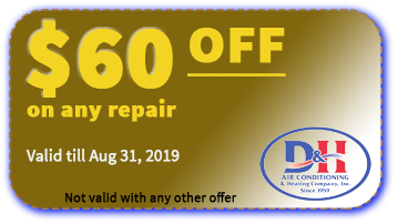 D&H AC Coupon valid till August 31 2019