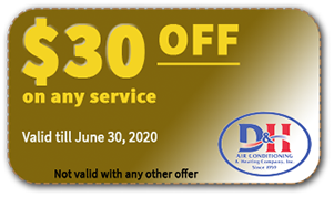 $30 OFF coupon on air conditioning service