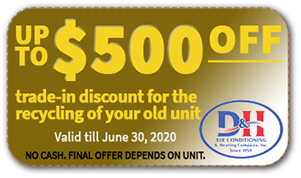 $500 OFF on Air Conditioner Trade-in