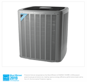 Daikin DX20TC: top of the line, ultra high performance A/C system: well suite for high-end air conditioning installations