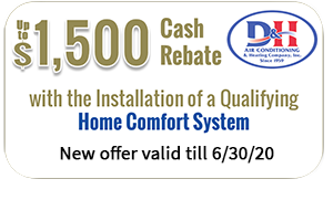Cash rebate on qualified Air Conditioning System - 6 30 20