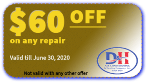 $60 OFF coupon - air conditioning service