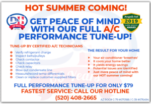 $79 Air Conditioning Performance tune-up