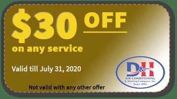 $30 FF AC Service Coupon