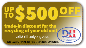 $500 Off AC Trade-in Discount