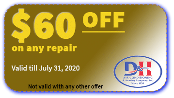 D&H AC $60 OFF coupon