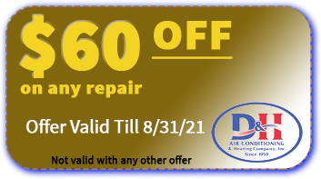 $60 Off any HVAC repair - D&H AC Tucson