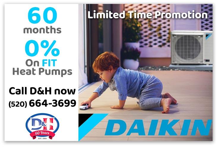Daikin Heat Pump Discount coupon